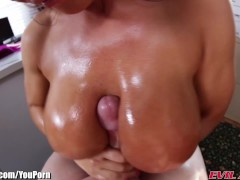 EvilAngel Lisa Ann POV Tit Fucking and Blowjob