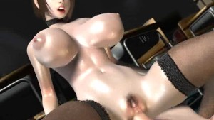 Umemaro 3D - Vol.7 - Lewd Bomb Bust Female Teacher