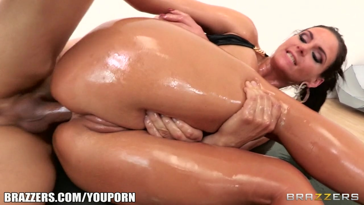 Greasy anal porn