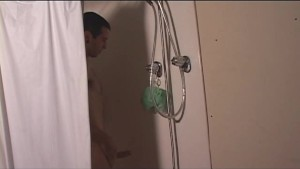 Straight guy got caught in the shower- Street Trade Studios
