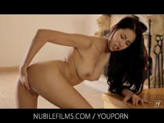 Nubile Films - She loves to feel her pussy gush with cum