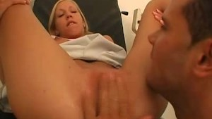 Blonde Babe Fucking Inside The Clinic