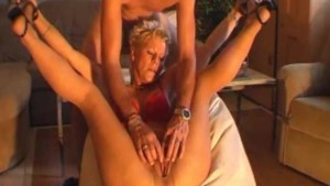 Hot amateur Milf masturbates, sucks and fucks with cumshot