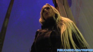 PublicAgent HD Big boobs blonde fucking a big cock