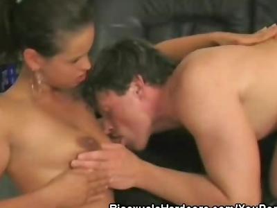Cock Sucking Bisex Threesome
