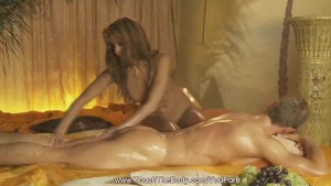 Blonde Loves To Do Massage