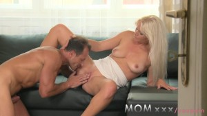 MOM Blonde milf needs good fucking