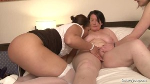 Rachelle french bbw in a foursome