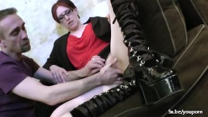Aby a french slut with glasses