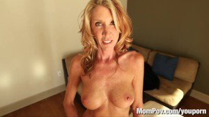 Horny MILF gets fucked and swallows