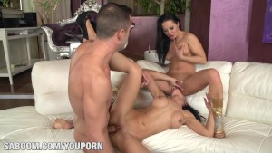 Sandra Romain and Honey Demon Threesome