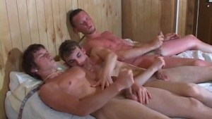 Jack Off Sessions With These Three Gorgeous Twinks