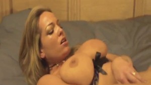 Blonde MILF Cums and Cums