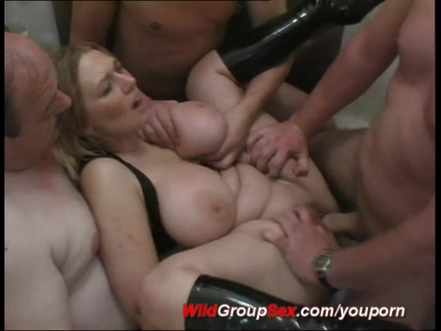 image Lexy gets gangbanged by 5 guys with creampies