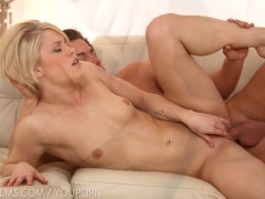 Nubile Films - Flirty seduction leads to cum covered ass
