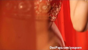 indian sex video of sexy desi girl in traditional indian saree stripping naked bigtits exposed rubbing her juicy shaved wet pussy