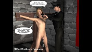 GAY BDSM NIGHTMARE! 3D Gay Cartoon Animated Comics Bondage