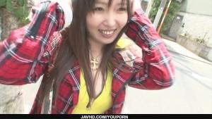 Beautiful Haruka Oosawa gets a rear fuck