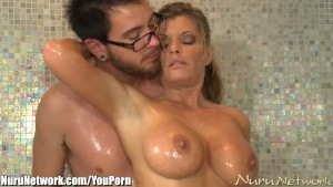 NuruNetwork Slippery MILF Blowjob