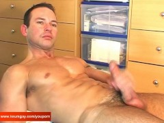 Picture A sexy swimmer guy serviced by us: get wanke...
