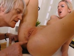 - Old man fingering and ...