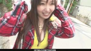 Beautiful Haruka Oosawa gets a rear fuck!