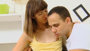Sexy czech teen girl with puffy nipples finally fucked by her new boyfriend