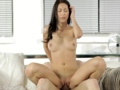 Nubile Films - Cum deep in her tight pussy
