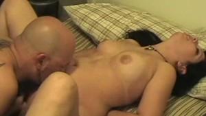 Chubby amateur girlfriend sucks and fucks with facial