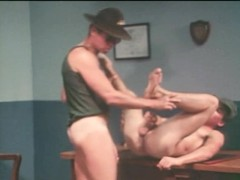 Vintage Gay Sergeant and Soldier