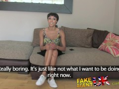 FakeAgentUk Tight young amateur gives fuck of the month