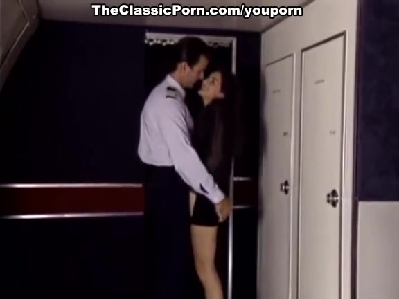 Classic fuck porn movie in an airplane