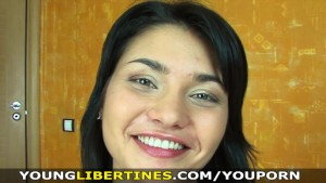 Young Libertines - Naughty brunette likes it rough