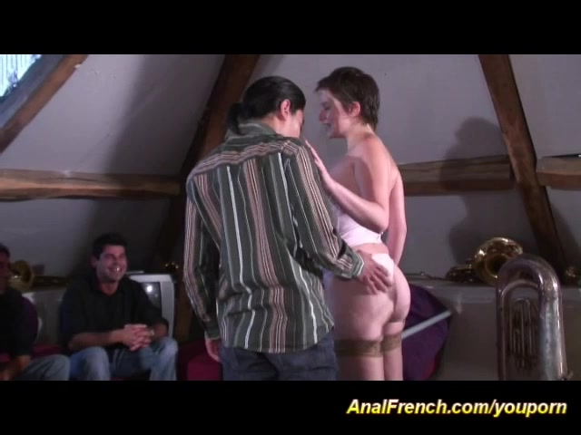 ready for french anal DP