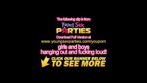 Young Sex Parties - Teens share boyfriends' dicks
