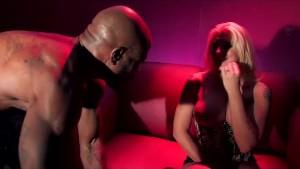 Big black cock tears up Leya's white ass