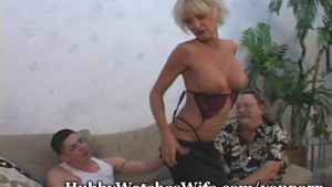 Mature Couple Recruits Student Lover