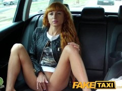 - FakeTaxi Long red hair...