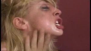 Blonde Pornstar Screams In A DP