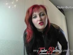 Dominanter Dirty-talk mit BBW Taylor-...