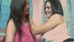 Classic Busty Girls Lesbian Frolics