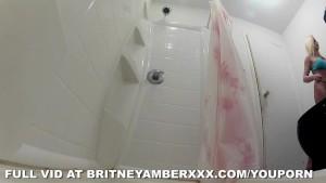 Britney Amber Showering
