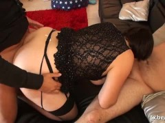 Picture Marie our french BBW double penetrated