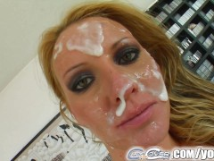 Cum For Cover facial cum bath for deepthroat expert