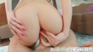 Ass Traffic Russian cutie gets ass fucked and swallows cum