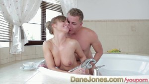 DaneJones Hot firm ass on happy tiny teen sensual young love in the hot tub