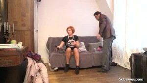 Dara a mature fucked in stockings