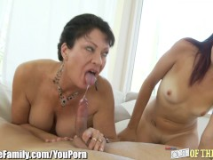 Picture 20y-Trannys Mom Teaches Her to Suck Cock