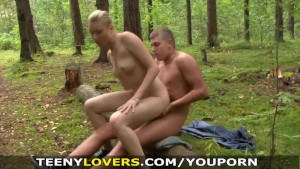 Teeny Lovers - Going camping and fucking