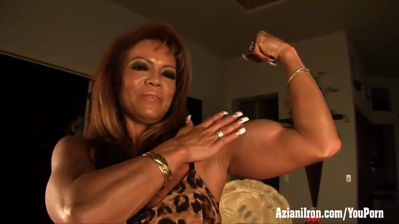 free video female bodybuilder clit